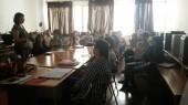 Taller de formació als mestres de l'escola Ciutat Cooperativa