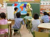 Visita de l'Aloja a l'escola Parellada