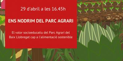 Suma't a la trobada virtual 'Ens nodrim del Parc Agrari'